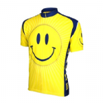 The Smiley Face or Don`t worry, be Happy Retro Cycling jersey